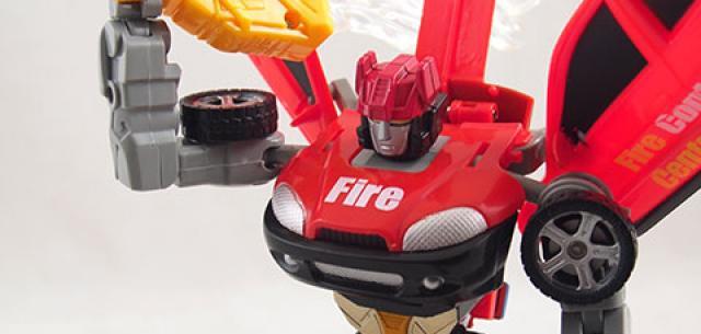 Robot Fighter (Car)