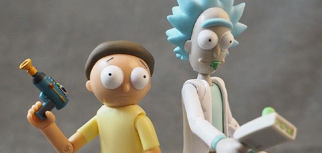 Rick and Morty Series 1 action figures from Funko