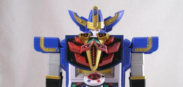 Power Rangers Tensou Sentai Goseiger Headers Mystic Brothers Set Figure Bandai