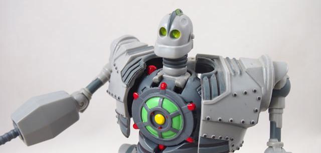 Transforming Iron Giant