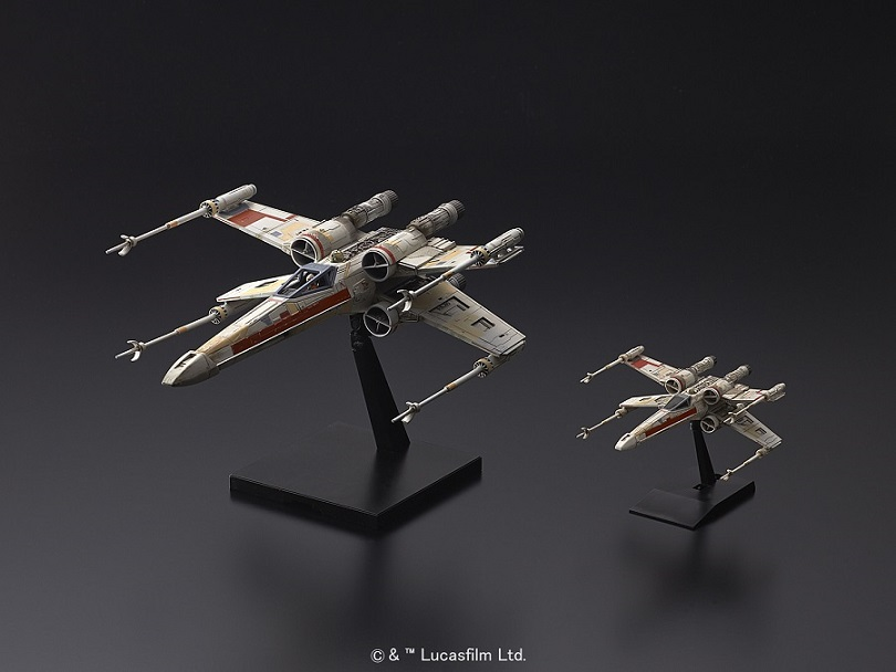 Red Squadron X Wing Starfighter Model Kit from Bandai