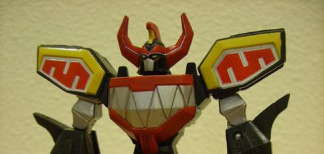 Retrofire Mighty Morphin' Megazord