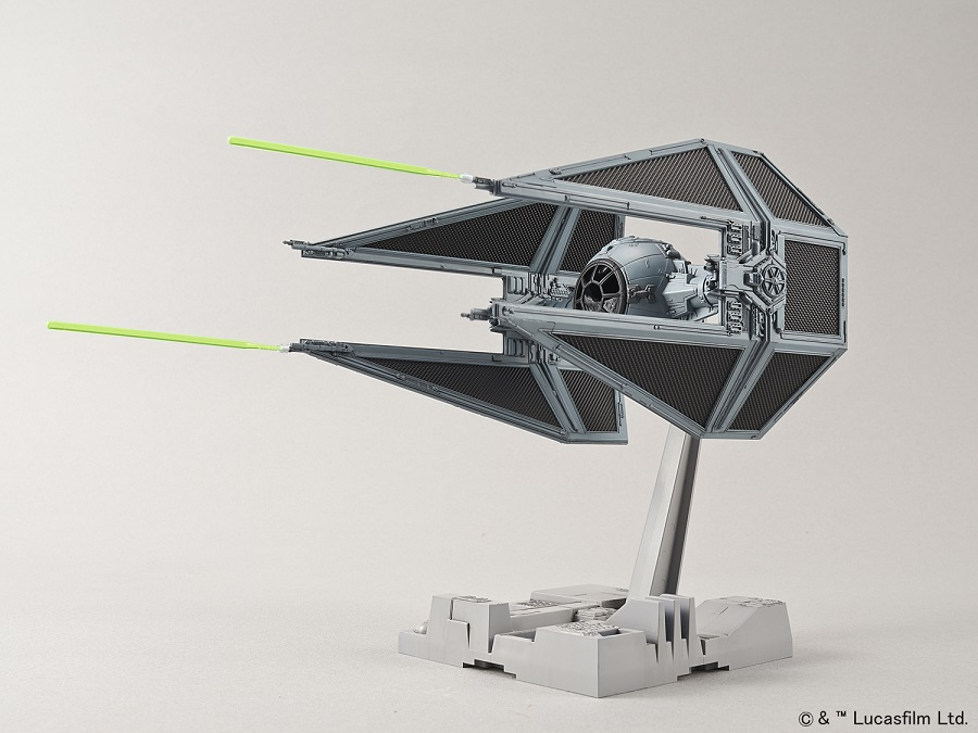 Tie Interceptor Model kit from Bandai