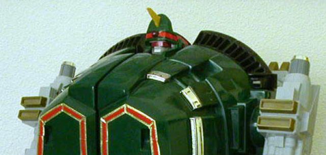 Power Rangers Dairanger Tor the Shuttlezord Megazord