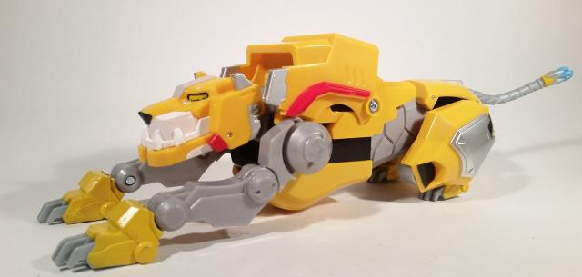 Legendary Yellow Lion