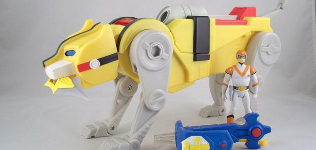 Yellow Lion (with Hunk figure)