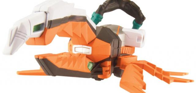 Power rangers Super samurai DX orange beetle green figure