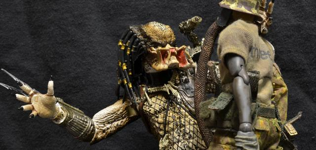 Battle Damaged Jungle Hunter Predator