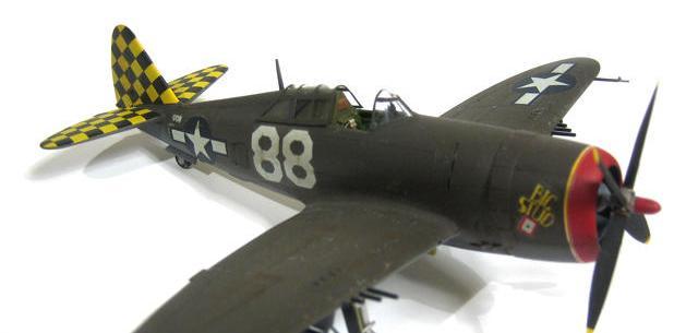 "Republic P-47D Razorback ""Big Stud"" Lt Col Robert Baseler Italy 1944 1/72"