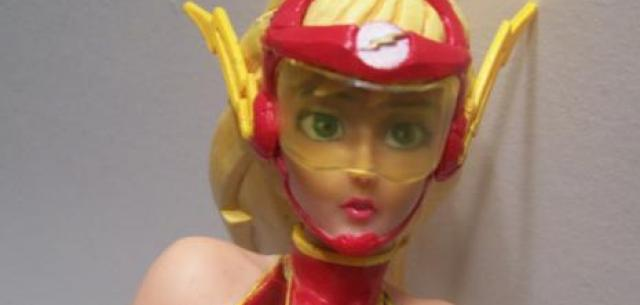 Jesse Quick as the Flash