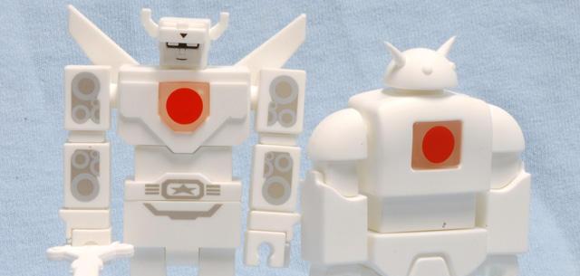 Shiroi Voltron and Nekosaur USB
