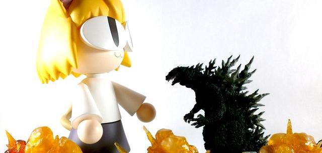Neko Arc VS Godzilla