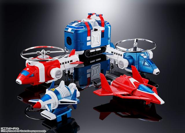 Soul of Chogokin Vehicle Voltron