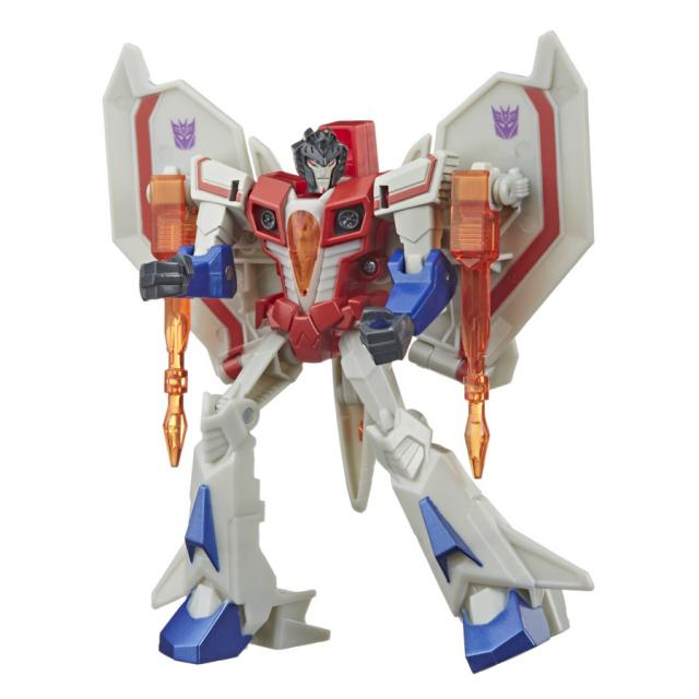 Transformers Bumblebee Cyberverse Adventures Warrior Starscream