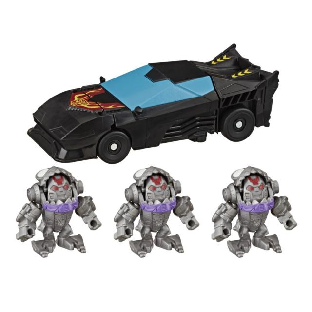 Transformers Bumblebee Cyberverse Adventures Sharkticons Attack Pack