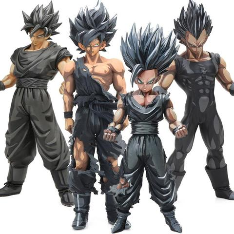 Dragon Ball Chocolate Ver Black Son Gohan Goku Vegeta Action Figure