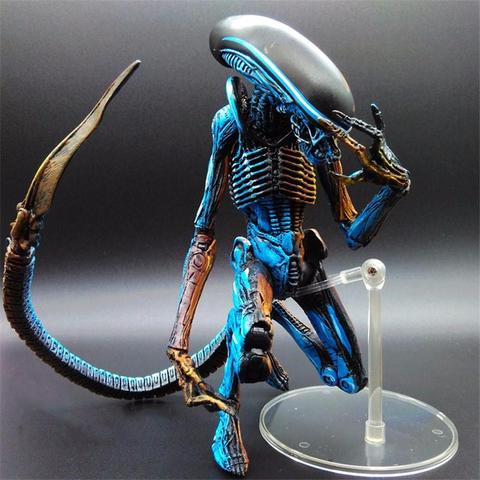 NECA Aliens Blue Alien Action Figure