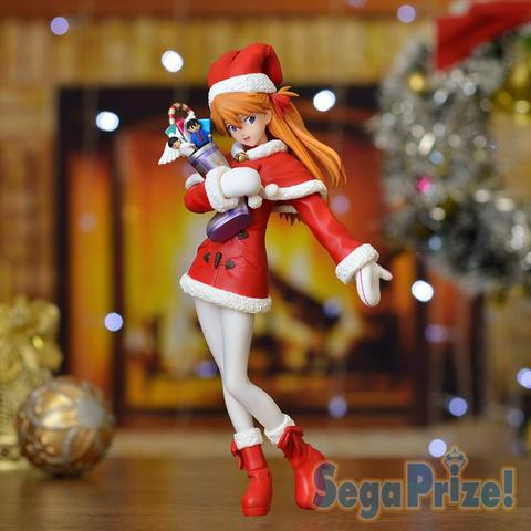 EVA Asuka Christmas Clothes Ver Action Figure