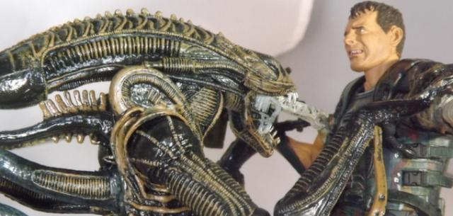 NECA Alien Warrior