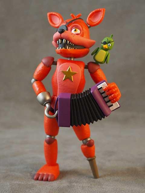 Funko Five Nights at Freddy's ROCKSTAR FOXY Action Figure