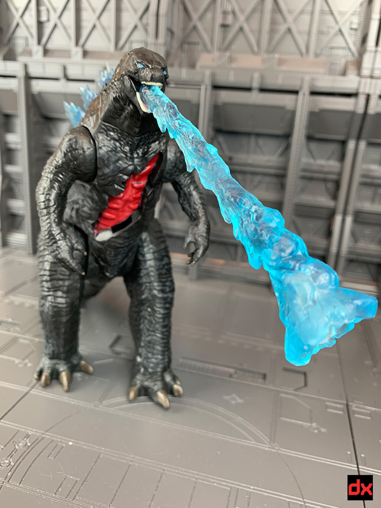 Godzilla with Heat Ray