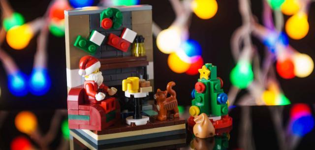 40125 Santa's Visit