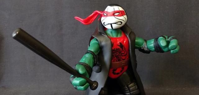 TMNT WWE ninja superstars raphael as sting