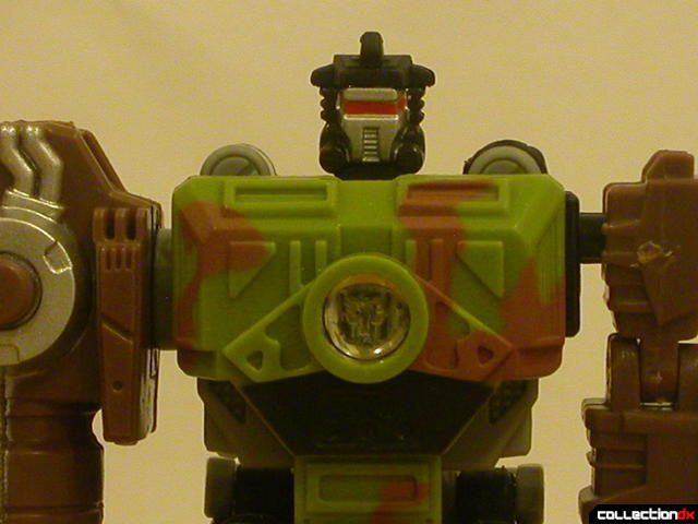 Autobot Signal Flare- robot mode (chest with Energon crystal removed)