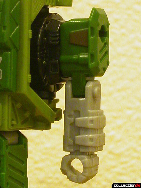 Autobot Strongarm- robot mode (left arm detail)