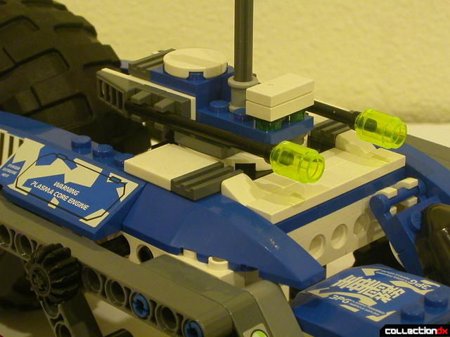 Hybrid Rescue Tank- drive section (turret pointed forward)