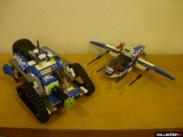Hybrid Rescue Tank- fighter and drive sections together