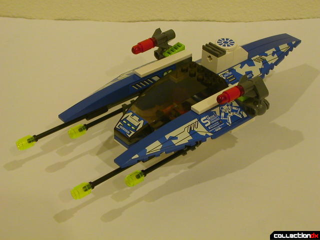Hybrid Rescue Tank- fighter section (wings retracted)