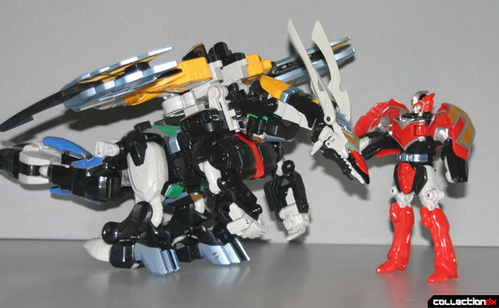 Titan Megazord (Dragon Mode)