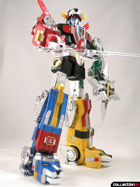 Voltron Masterpiece Edition