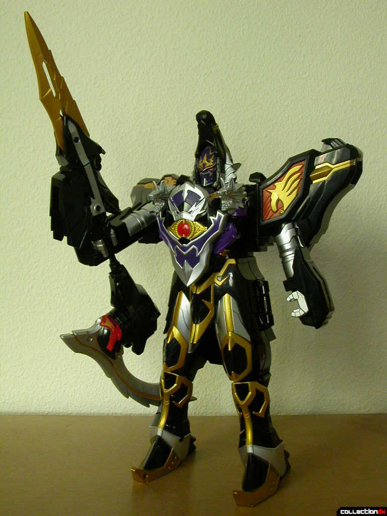 DX Majin Gattai WolKaiser with BariJavelin