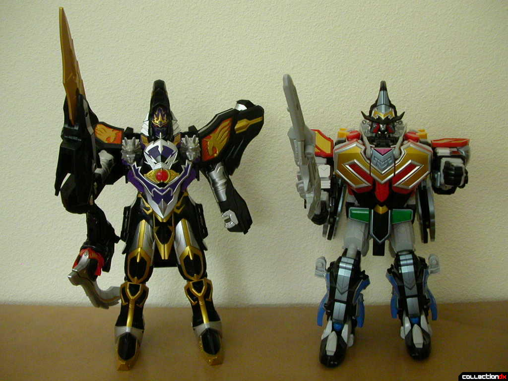 DX Majin Gattai WolKaiser and DX Majin Gattai MagiKing