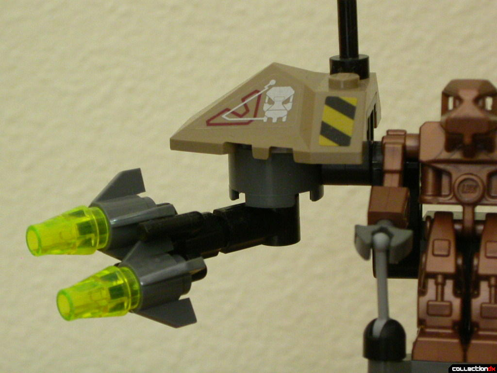 Sentry- missile arm detail