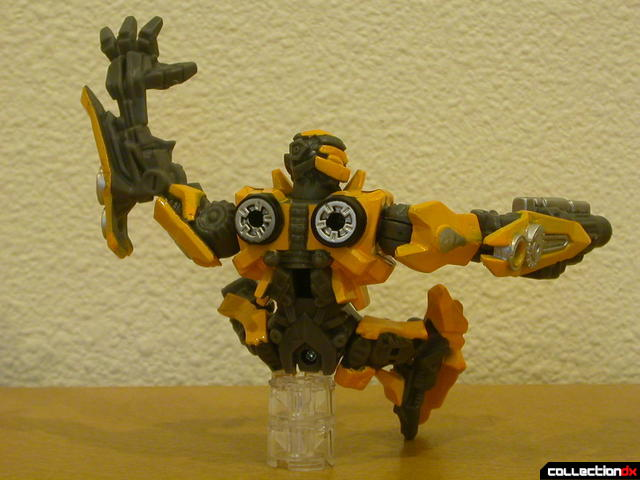 Battle Scenes- Final Stand (Bumblebee figure, back)