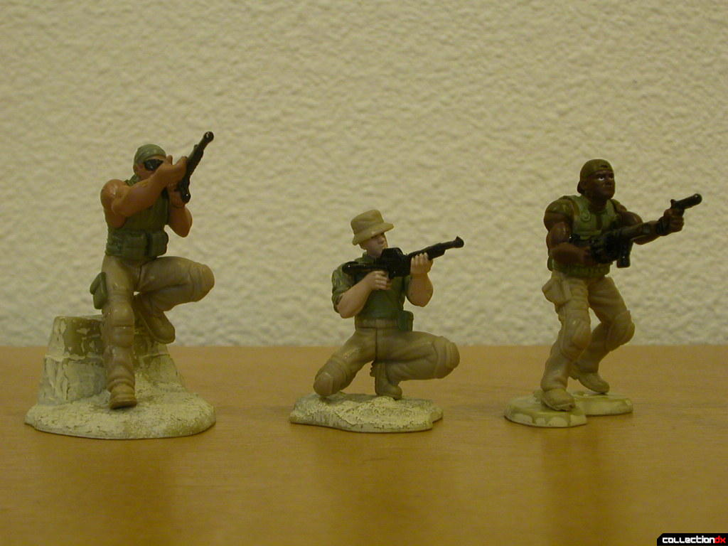 Desert Attack- US Marines figures (together)