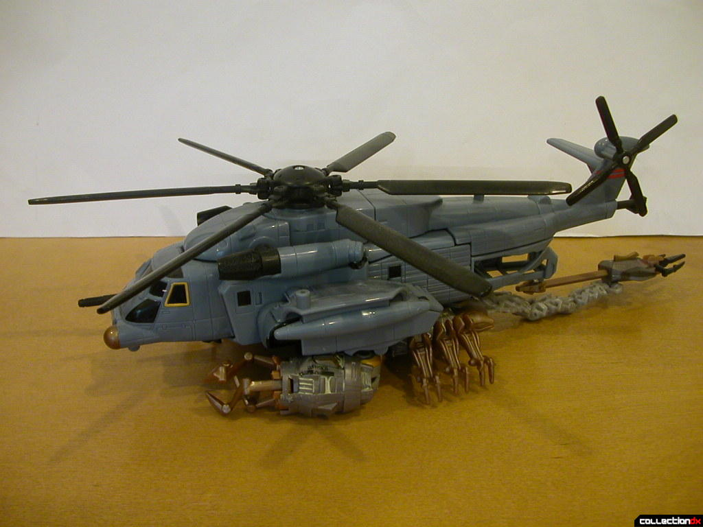 Voyager-class Blackout and Battle Scenes Scorponok connected