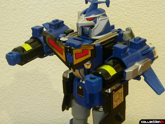 Deluxe Stratoforce Megazord (arms attached)