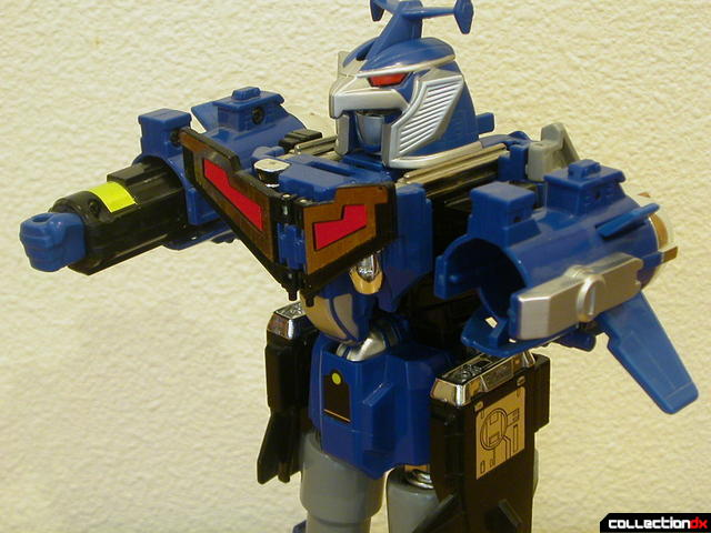 Deluxe Stratoforce Megazord (left arm launched)