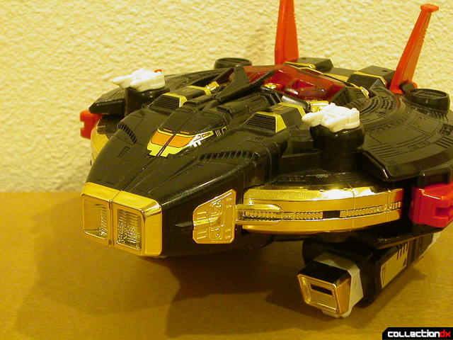 Deluxe Astro Galactic Megazord- Mega Shuttle (docked, covered)