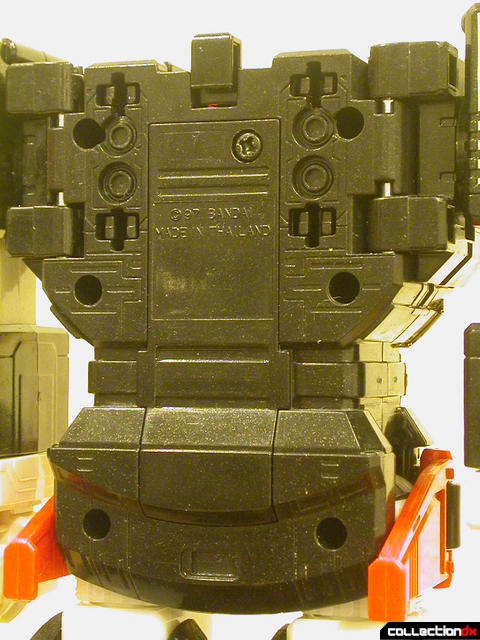 Deluxe Astro Galactic Megazord- Megazord Mode ('battery compartment' detail)
