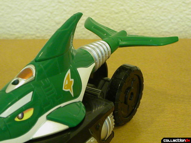Engine Gattai Series 1- Engine Birca (fins detail)