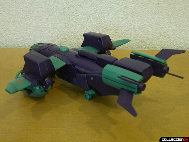 Decepticon Lugnut- vehicle mode (back)