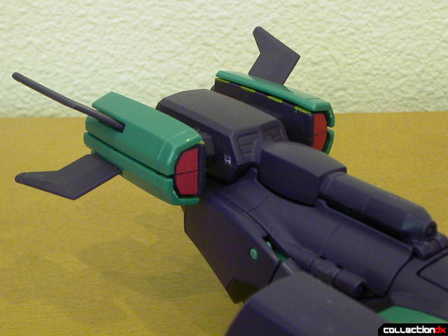 Decepticon Lugnut- vehicle mode (tail detail)