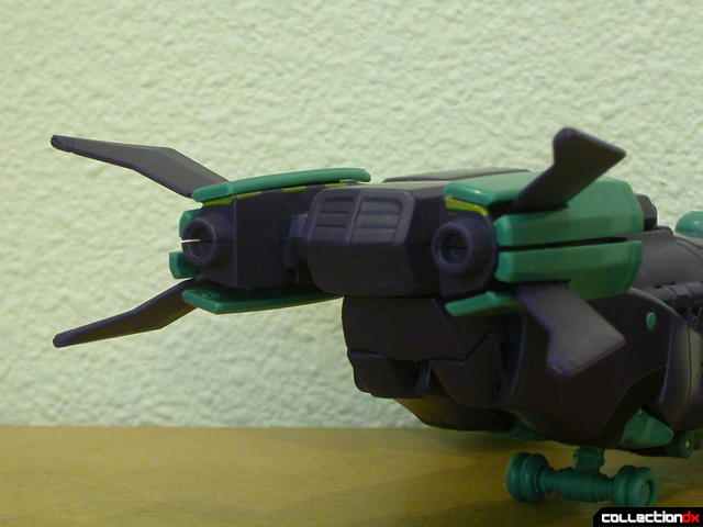 Decepticon Lugnut- vehicle mode (tail detail, alt. view)