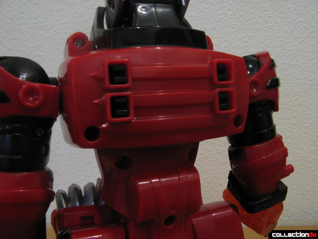 Transforming Fury Megazord Set- Jungle Pride Megazord (upper back detail)
