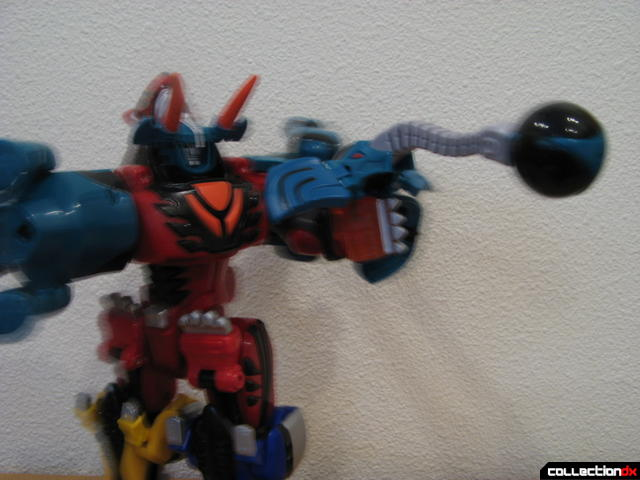 Transforming Fury Megazord Set- Jungle Pride Megazord with Elephant Power posed (1)